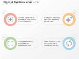 add_stars_focus_of_camera_repeat_ppt_icons_graphics_Slide01