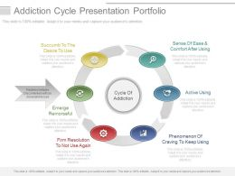 Addiction Cycle Presentation Portfolio