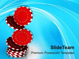 Addiction To Gambling PowerPoint Templates PPT Themes And Graphics 0513