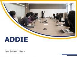 ADDIE Instructional Design Analysis Development Evaluation Process Model