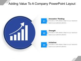 Adding Value To A Company Powerpoint Layout