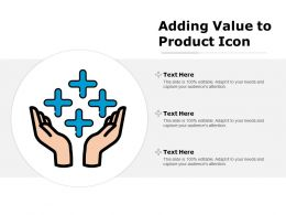 Adding Value To Product Icon