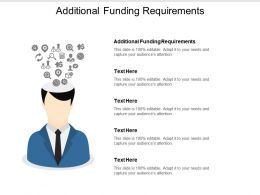 Additional Funding Requirements Ppt Powerpoint Presentation Gallery Show Cpb