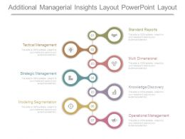 Additional Managerial Insights Layout Powerpoint Layout