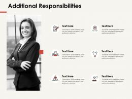 Additional Responsibilities Agenda Ppt Powerpoint Presentation Professional Template