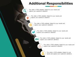 Additional Responsibilities People Ppt Powerpoint Presentation Diagram Images