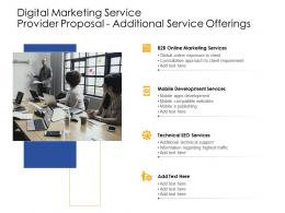 Additional Service Offerings Digital Marketing Service Provider Proposal Ppt Example Topics