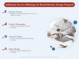 Additional Service Offerings For Brand Identity Design Proposal Ppt Powerpoint Outfit