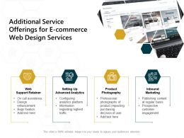 Additional Service Offerings For E Commerce Web Design Services Analytics Ppt Presentation Good