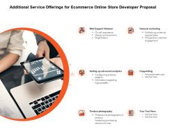 Additional Service Offerings For Ecommerce Online Store Developer Proposal Ppt Powerpoint Summary