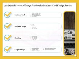 Additional Service Offerings For Graphic Business Card Design Services Ppt Clipart