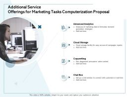 Additional Service Offerings For Marketing Tasks Computerization Proposal Cloud Storage Ppt Microsoft