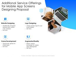 Additional Service Offerings For Mobile App Screens Designing Proposal Augmented Reality Ppt Tips
