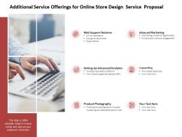 Additional Service Offerings For Online Store Design Service Proposal Ppt Slides