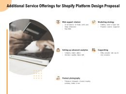 Additional Service Offerings For Shopify Platform Design Proposal Ppt Powerpoint Presentation Pictures