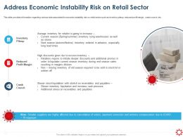 Address Economic Instability Risk On Retail Sector Crunch Ppt Powerpoint Presentation Styles