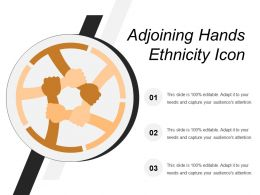 Adjoining Hands Ethnicity Icon