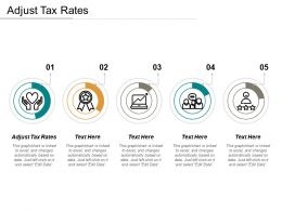 Adjust Tax Rates Ppt Powerpoint Presentation Gallery Ideas Cpb