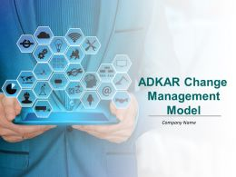 Adkar Change Management Model Powerpoint Presentation Slides