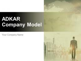 Adkar Company Model Powerpoint Presentation Slides