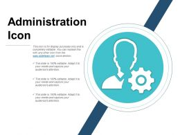 Administration Icons Ppt Slide Template