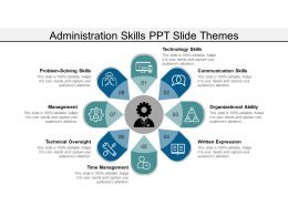Administration Skills Ppt Slide Themes