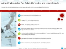 Administrative Action Plan Related To Tourism And Leisure Industry Adjust Ppt Powerpoint Presentation Show