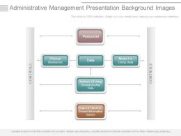 Administrative Management Presentation Background Images