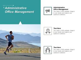 Administrative Office Management Ppt Powerpoint Presentation Portfolio Inspiration Cpb
