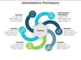 Administrative Permissions Ppt Powerpoint Presentation Icon Skills Cpb