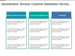 Administrative Services Customer Satisfaction Service Delays Quality Service