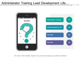 Administrator Training Lead Development Life Stages Implementation Reporting Progress