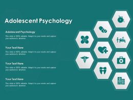 Adolescent Psychology Ppt Powerpoint Presentation Styles Background Image