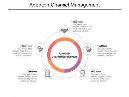 Adoption Channel Management Ppt Powerpoint Presentation Visual Aids Slides Cpb