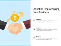 Adoption Icon Acquiring New Business