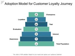Adoption Model For Customer Loyalty Journey