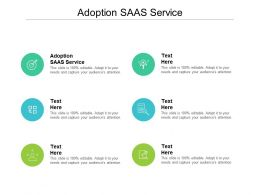 Adoption SAAS Service Ppt Powerpoint Presentation Template Cpb
