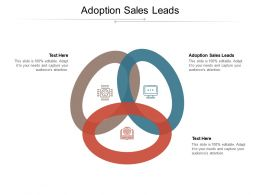 Adoption Sales Leads Ppt Powerpoint Presentation Pictures Styles Cpb