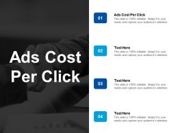 Ads Cost Per Click Ppt Powerpoint Presentation Styles Slide Portrait Cpb