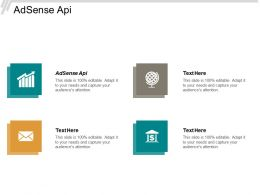 AdSense Api Ppt Powerpoint Presentation Pictures Elements Cpb