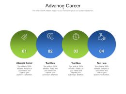Advance Career Ppt Powerpoint Presentation Styles File Formats Cpb