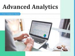 Advanced Analytics Implementation Solutions Functionality Executive Presenting Strategy