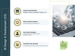 Advanced Analytics Local Environment Bi Design And Development Type Standards Ppt Rules
