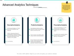 Advanced Analytics Techniques Data Integration Ppt Powerpoint Show Icon