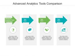 Advanced Analytics Tools Comparison Ppt Powerpoint Presentation Professional Designs Download Cpb