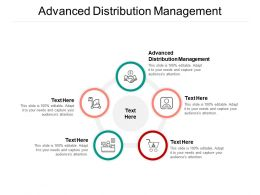 Advanced Distribution Management Ppt Powerpoint Presentation Show Graphics Template Cpb