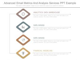 Advanced Email Metrics And Analysis Services Ppt Example