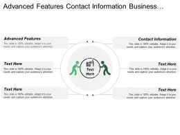 Advanced Features Contact Information Business Intelligence Contact Management