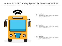 Advanced GPS Tracking System For Transport Vehicle