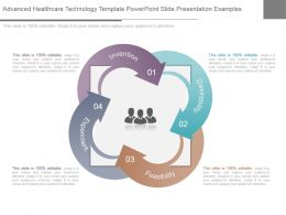 Advanced Healthcare Technology Template Powerpoint Slide Presentation Examples